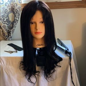 18 Inch Brazilian Lace Front Wig